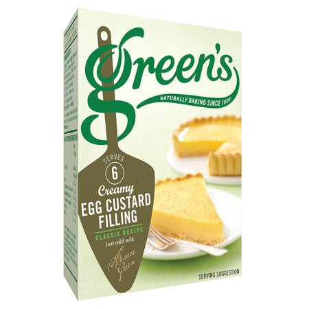 Miu Miu Green - Green's Egg Custard Filling Mix, 1.9oz (54g)