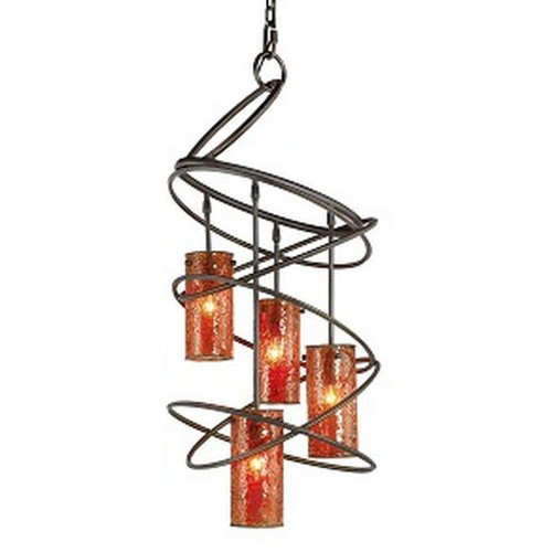 Woodbridge Lighting Loop 4-Light Shaded Chandelier