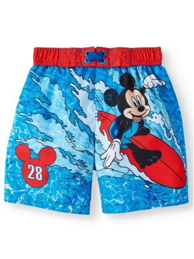 8a2de09cc67 Product Image Mickey Mouse Board Short Swim Trunks (Toddler Boys)