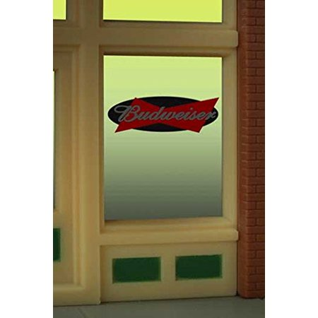 8815 Model Budweiser Beer Animated Lighted Window Signby Miller Signs By LightWorksUSA