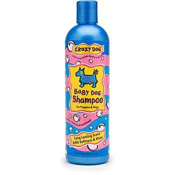 Cardinal Laboratories Crazy Dog Shampoo, 12 oz, Baby Powder
