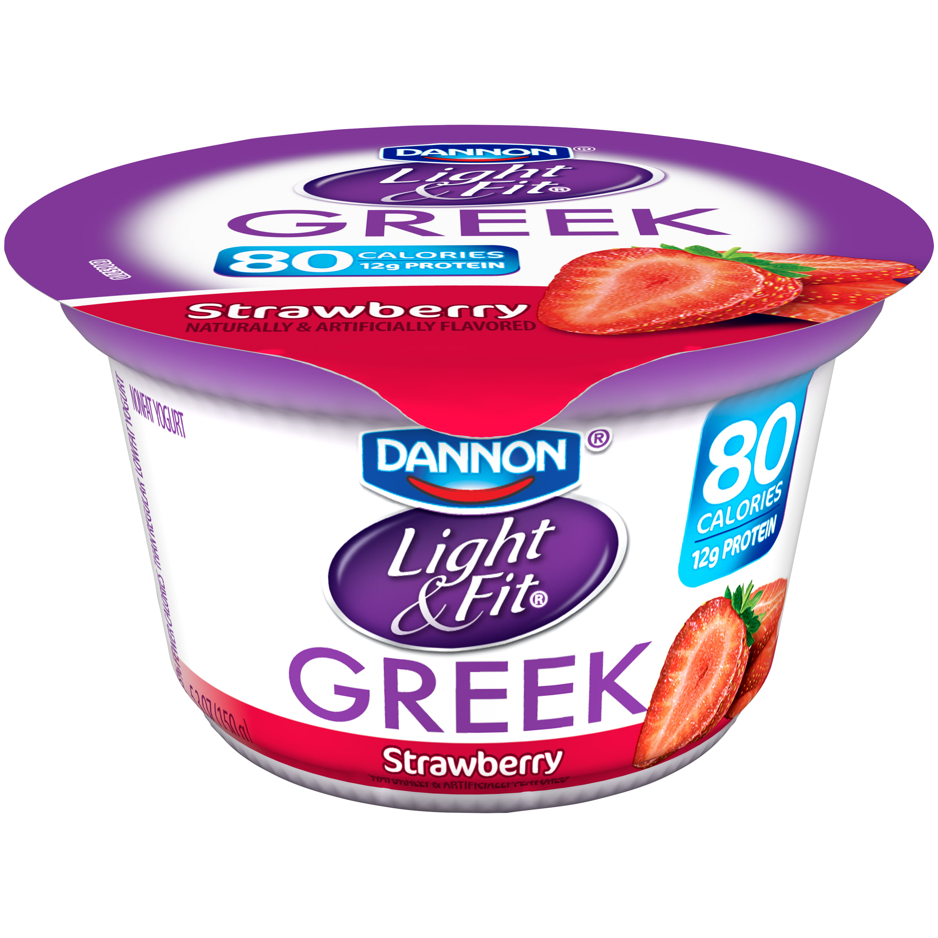 Great Dannon Light U0026 Fit Greek Vanilla Nonfat Yogurt, 5.3 Oz, 4 Ct   Walmart.com Pictures Gallery