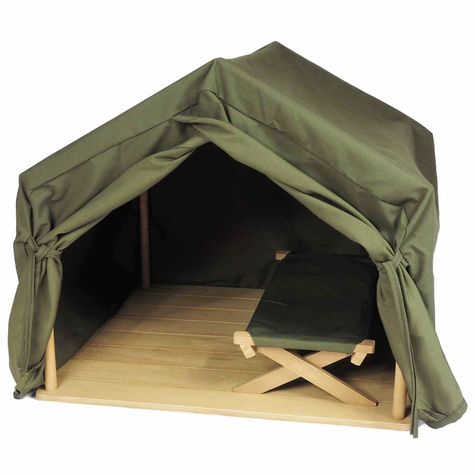 18 Inch Doll Furniture Dr. Goodall Inspired Gombe Research Camping Tent And Cot