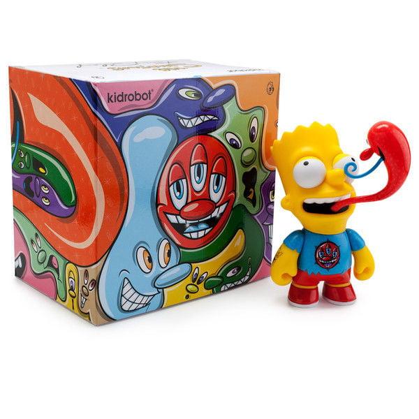 "The Simpsons - Kenny Scharf Bart 6"" Medium Figure by Kidr..."