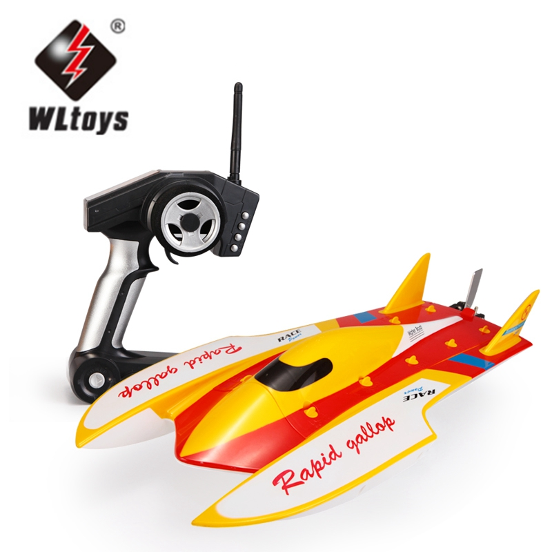 Wltoys WL913 2.4G Brushless Boat Water-cooling High Speed Racing RC Boat 50km H by