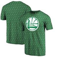 Golden State Warriors Fanatics Branded All Irish All Over Print T-Shirt - Kelly Green