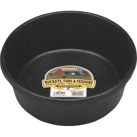 Manufacturing HP2 Rubber Feed Pans 4-Quart, Molded from the finest corded rubber for the maximum in strength and durability. By Miller