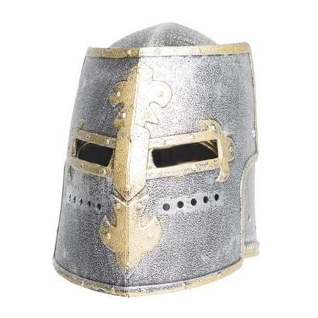 Knight Box Adult Helmet, Silver - One Size (Knight Helmets)