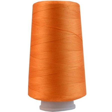 Threadart Heavy Duty Cotton Thread 2500 M - 40/3 - Color 107 - Apricot - 17 Colors Available - 2 cone packs ()