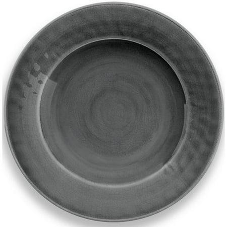 (TarHong Crackle Glaze 10.5'' Melamine Dinner Plate (Set of 6))