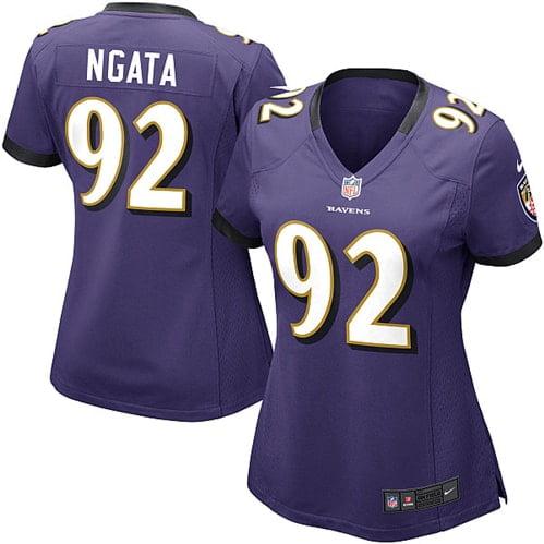 Haloti Ngata Baltimore Ravens Nike Women's Game Jersey - Purple