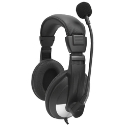 Over-Ear Lab Headset with Microphone and Volume Control - PT -  SMB-25VC