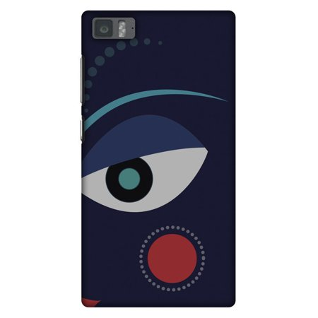 Xiaomi Mi 3 Case, Premium Handcrafted Designer Hard Shell Snap On Case Printed Back Cover with Screen Cleaning Kit for Xiaomi Mi 3, Slim, Protective - Divine Goddess - Blue - Goddess Blue