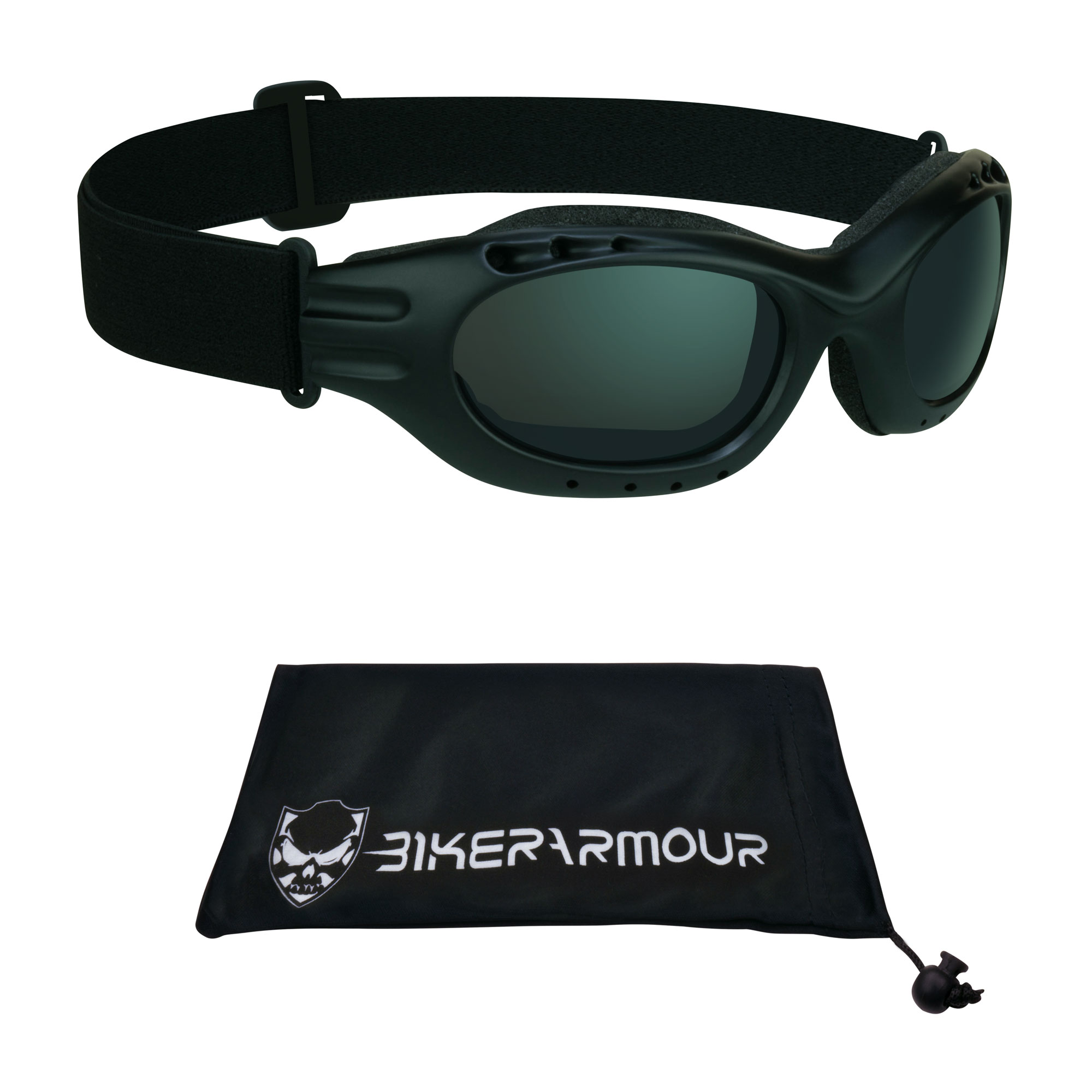 Motorcycle Riding Goggles. Great for Biker Riding, Skiing and Snowboarding.