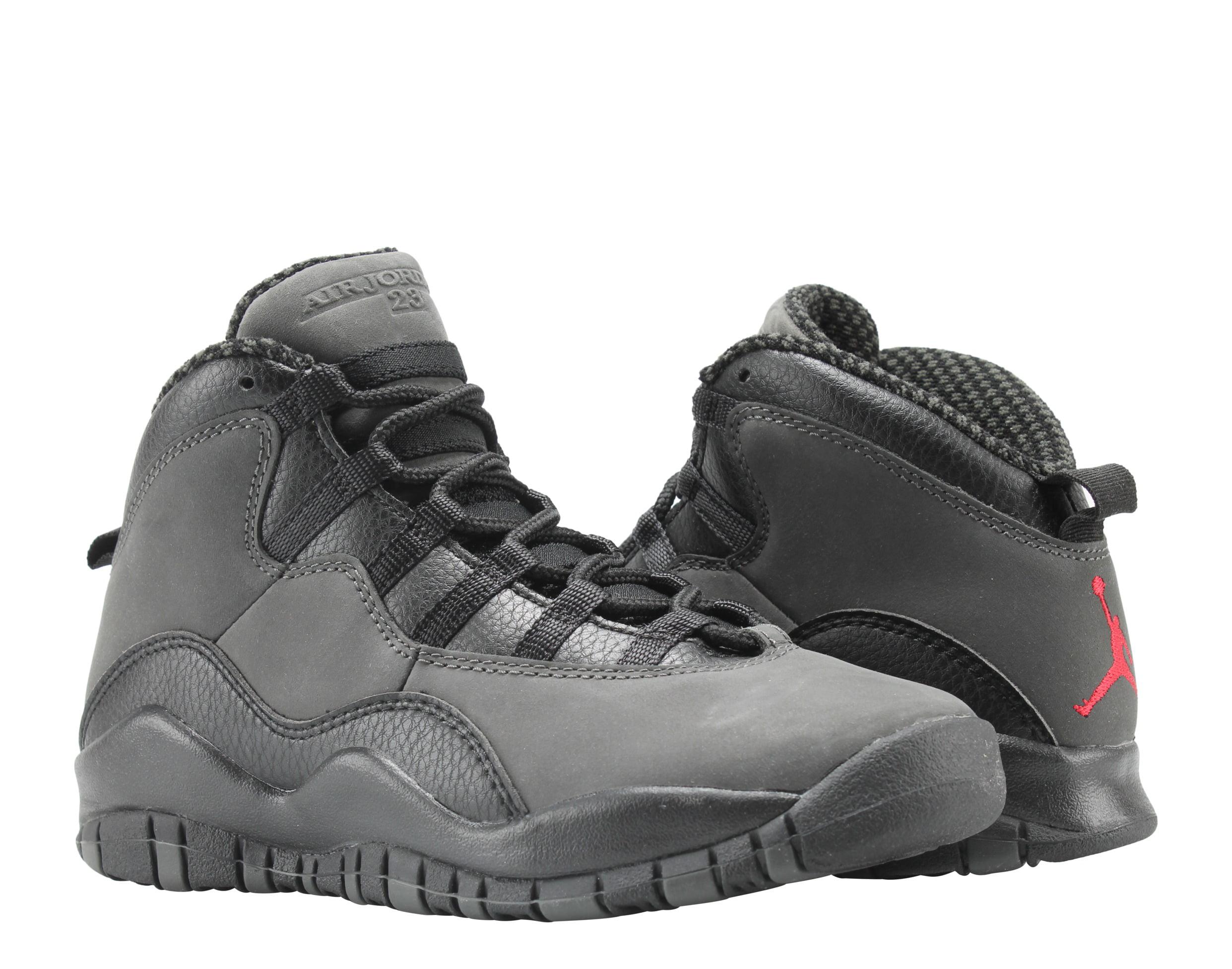 super popular 59209 0b2b3 ... get nike air jordan 10 retro bg dark shadow big kids basketball shoes  310806 002 walmart