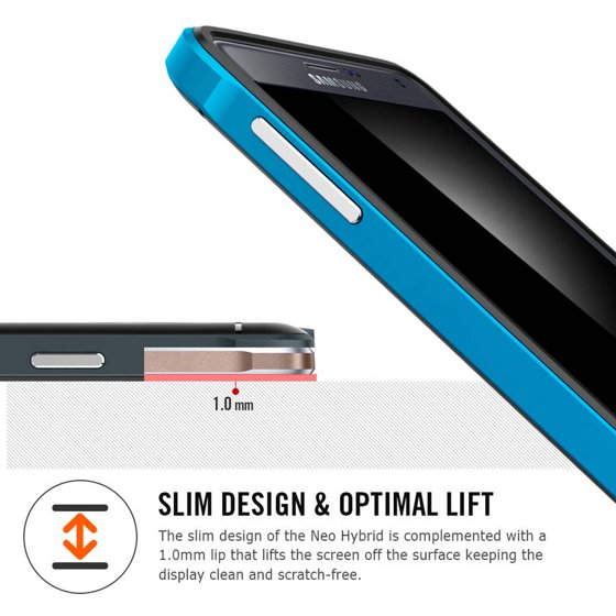 timeless design 6f370 b07bb Spigen Samsung Galaxy Note 4 Neo Hybrid Case