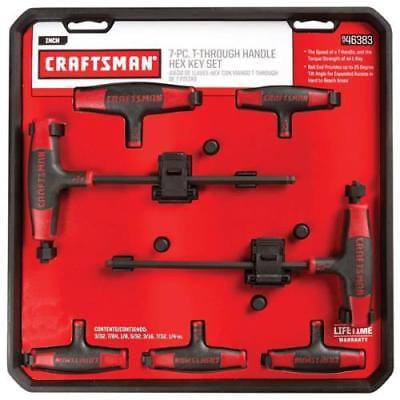 Craftsman 7 Piece T-Handle Ball End Hex Key Set SAE