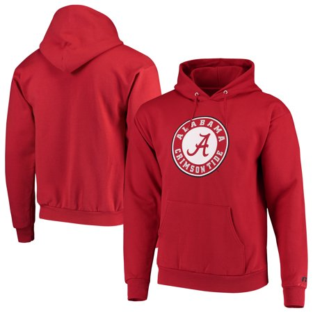 Alabama Crimson Tide Russell Classic Fit Chase Pullover Hoodie - Crimson