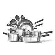 Select By Calphalon Stainless Steel 14 Piece Deluxe