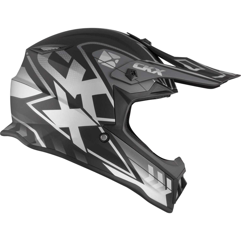 CKX Wired TX019Y Off-Road Helmet No Shield