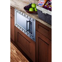 Summit Appliance 19'' 1 cu.ft. Built-In Microwave with 4.38 inch Trim