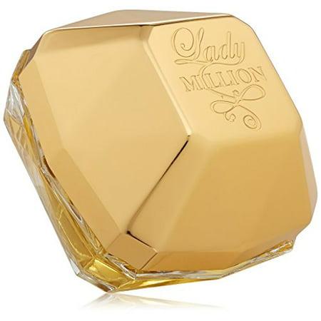 Lady Million by Paco Rabanne Eau De Parfum Spray 1 oz for Women