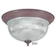 """Sunset Lighting F7508 3 Light 180 Watt 16"""" Wide Flush Mount Ceiling Fixture"""