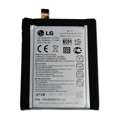 Original Lg Bl T7 Internal Battery With Flex Cable For Lg Optimus G2 At D800 Sprint Ls980 T Mobile D801 Verizon Vs980