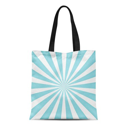 ASHLEIGH Canvas Tote Bag Yellow Flare Blue Sun Rays Sunburst Abstract Sky Gold Durable Reusable Shopping Shoulder Grocery (Gold Copper Flash Ray Ban)