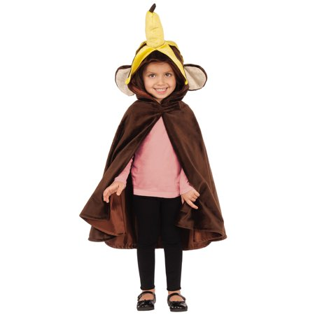 Monkey Child Hooded Zoo Circus Animal Costume Cape Cloak - Children Animal Costume