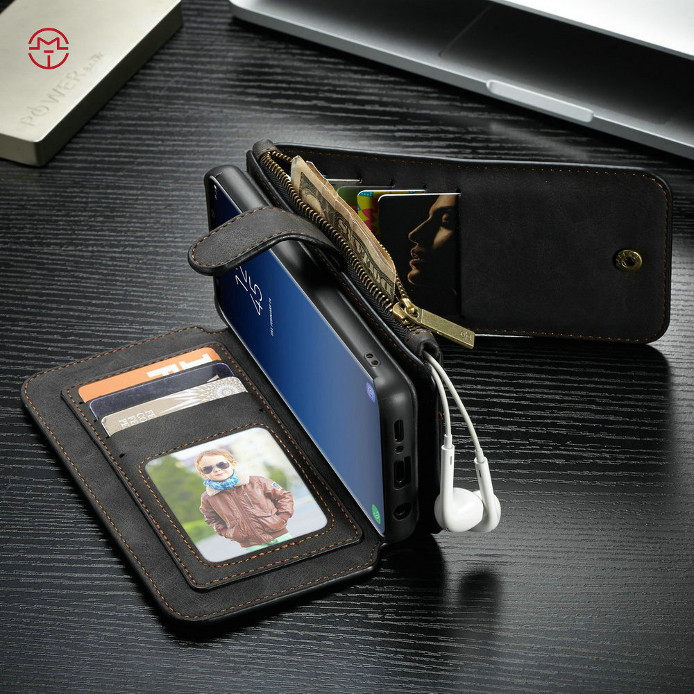 2 in 1 Multifunction Phone Full Protective Case Wallet Card Holder for Samsung S9 Plus   Walmart ...