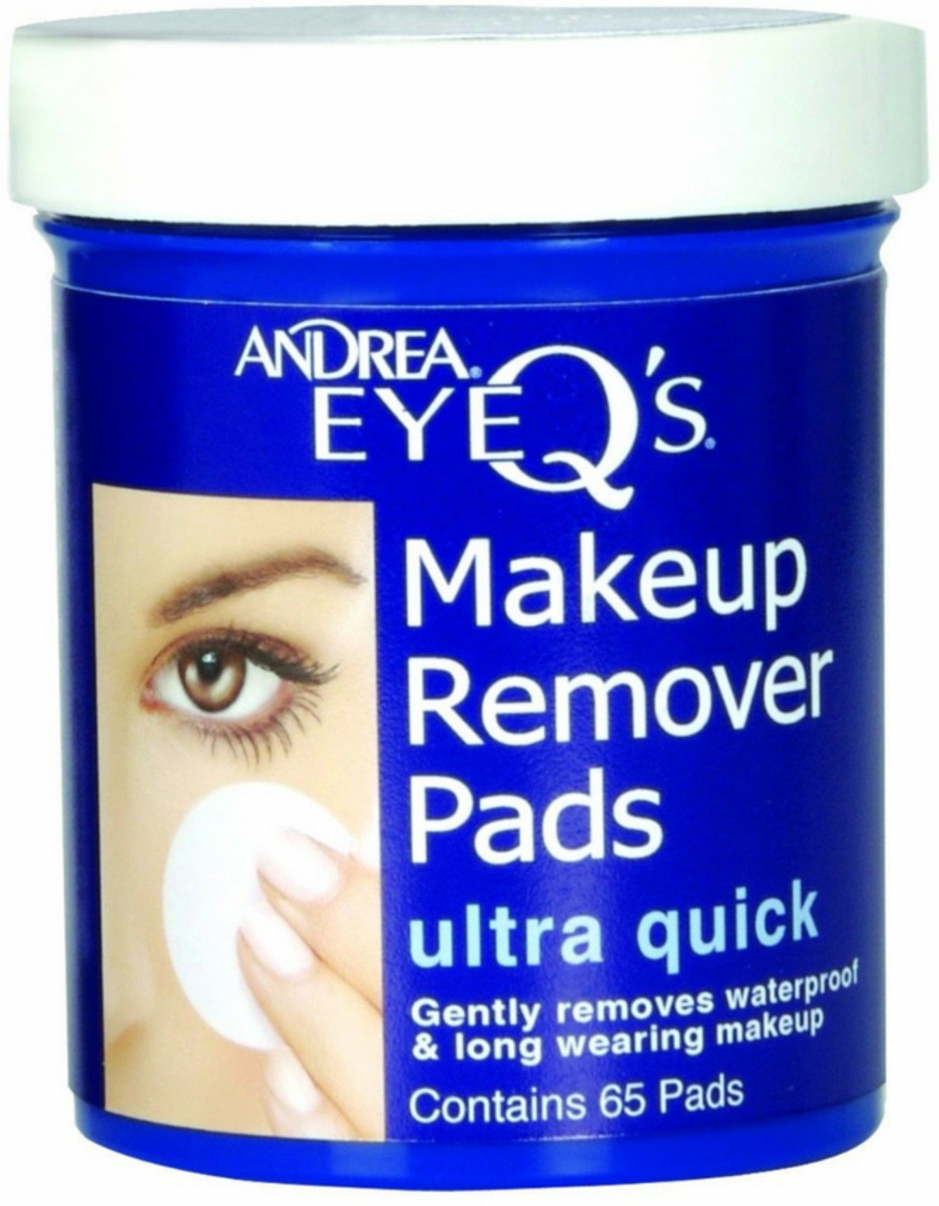 Andrea EyeQ Eye Makeup Remover Pads, 65 Ct ASAP Hydrocolloid Acne Patches | 120 Total Acne Pimple Patches | 20 Patches (6 Sheets) | Acne Treatment | Quest Skincare
