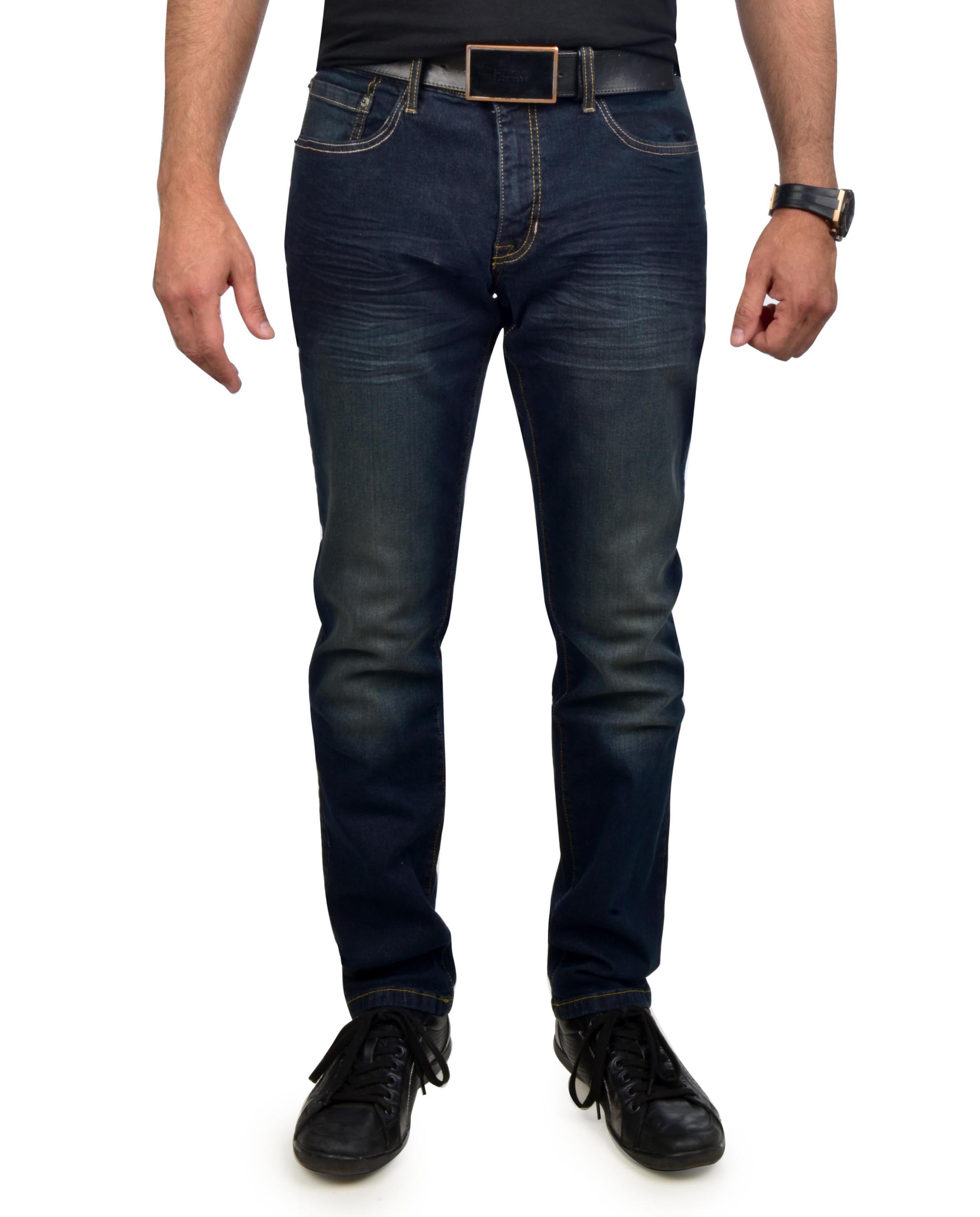 Izod Men's Comfort Stretch Slim Straight Fit Jeans