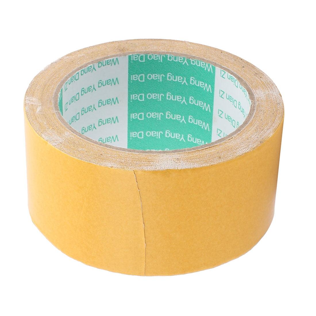 White Strong Double Sided Waterproof Sponge Tape 10 Meters Long 5cm Wide