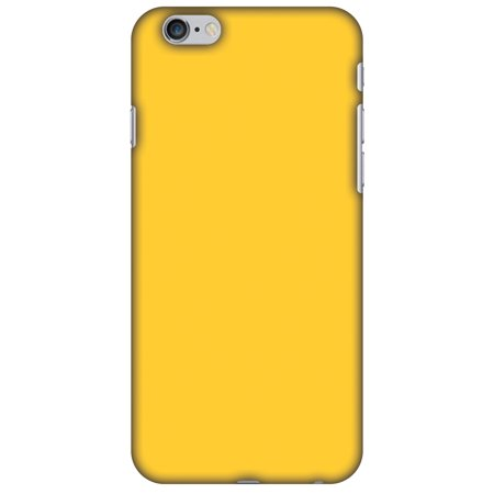 new concept 14d84 b38de iPhone 6s Plus Case, iPhone 6 Plus Case - Bumblebee Yellow,Hard Plastic  Back Cover, Slim Profile Cute Printed Designer Snap on Case with Screen ...