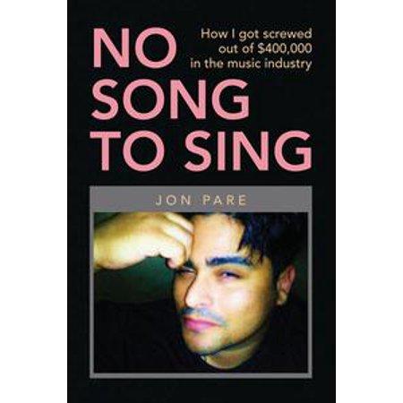 No Halloween Song (No Song to Sing - eBook)