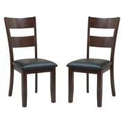 Sturdy Dining Chairs-Finish:Espresso,Quantity:2 Piece