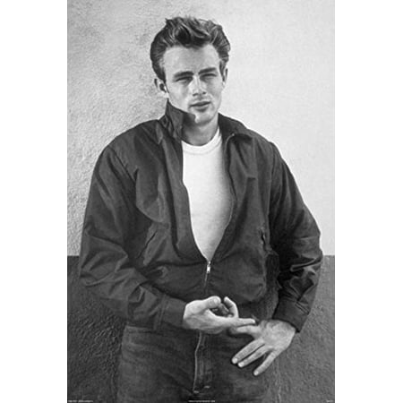 James Dean 24X36 Poster Super Sexy Black And White Vintage Hunk