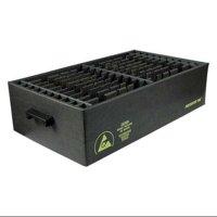 """PROTEKTIVE PAK 37233 Black Divider Box, 32-3/4""""L x 24-1/2""""W x 2-1/4""""H"""