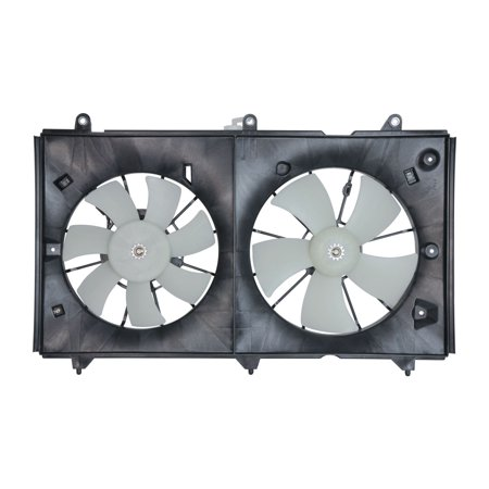 TYC 620690 Honda Accord Replacement Radiator/Condenser Cooling Fan Assembly