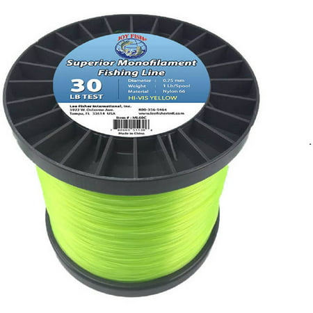 Joy Fish 5 Lb Spool Monofilament Fishing Line 120 Lb Hi Vis