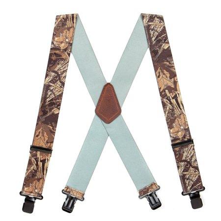 Suspender Store Camo Suspenders - 2-Inch Wide - Clip