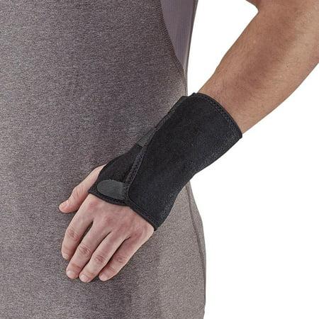 Walker Splint - Ames Walker Unisex AW Style C51 Neoprene-Universal Wrist Splint for Right or Left Hand AWC51-P
