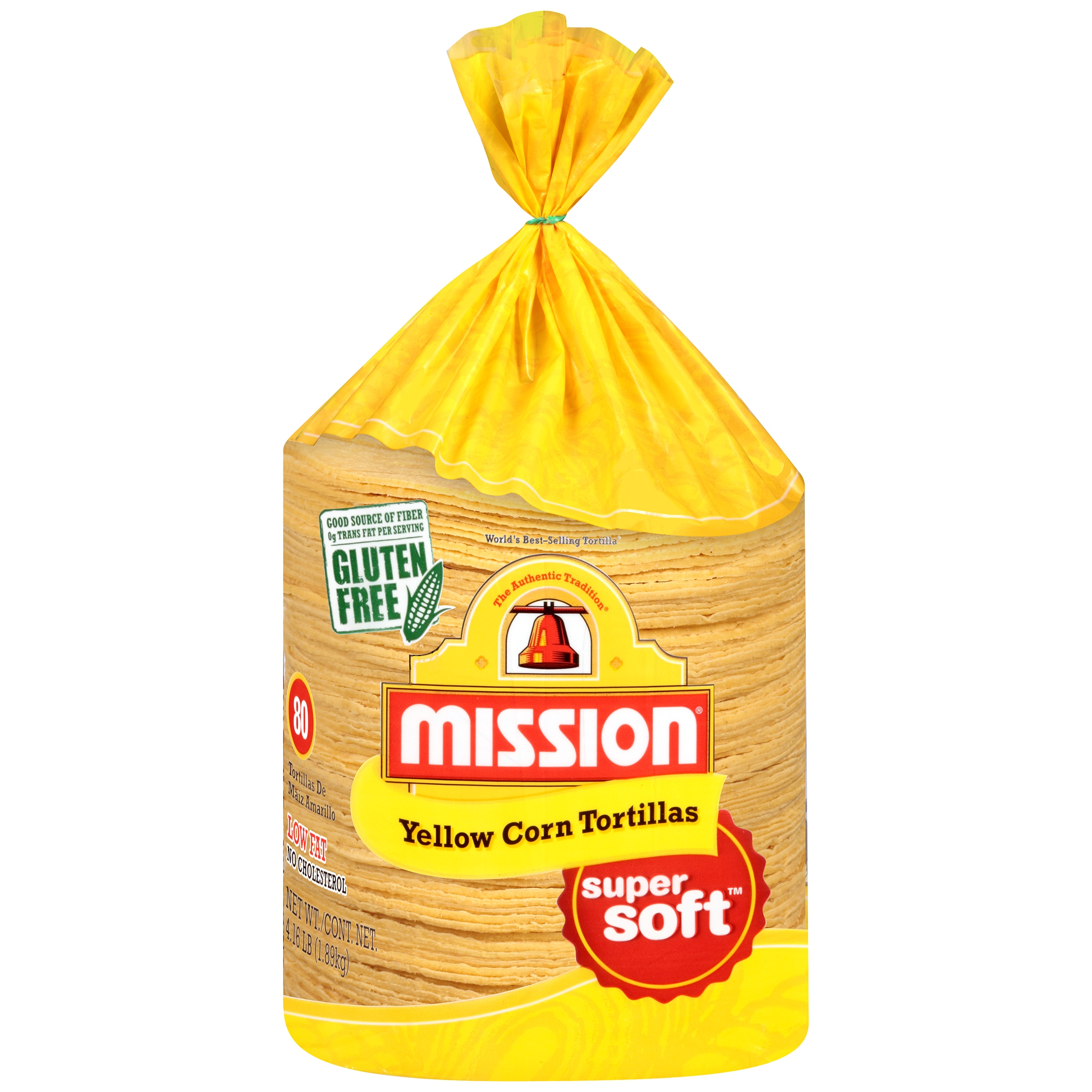 Mission® Yellow Corn Tortillas 4.16 lb. Bag