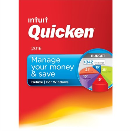 Quicken 2016 Deluxe Personal Finance   Budgeting Software