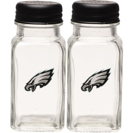 Philadelphia Eagles Glass Salt & Pepper Shakers - No Size