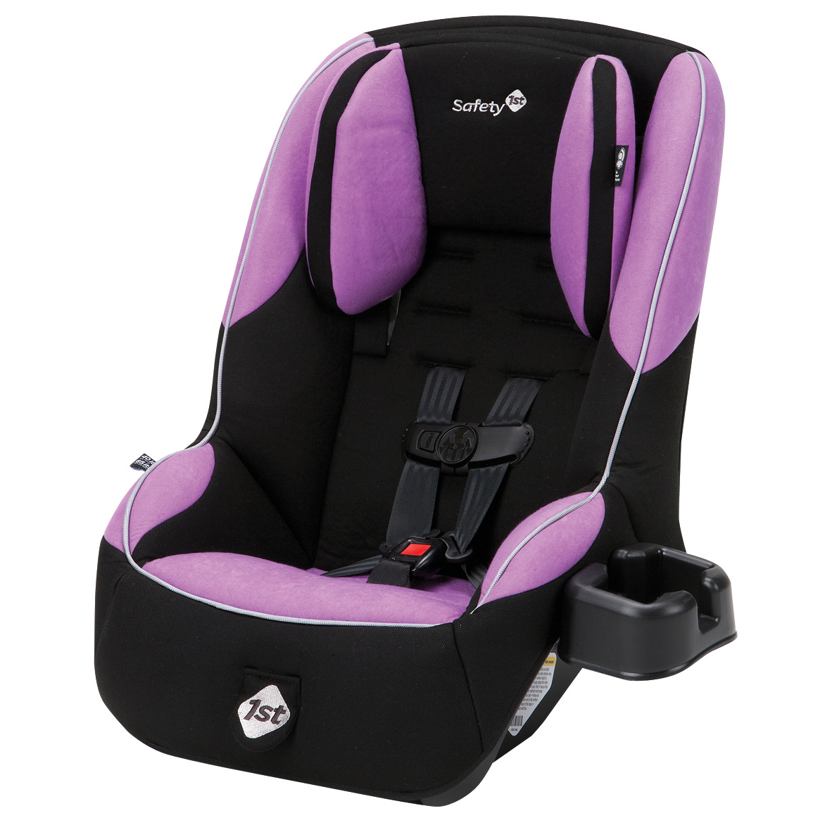 Safety 1st Guide 65 Sport Convertible Car Seat, Lavender Love