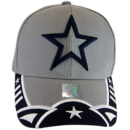 Dallas Texas Men's Stars & Stripes Adjustable Baseball Cap (Star (Stars Stripes Caps)