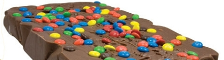 M and M Fudge Block, 6 Pounds by