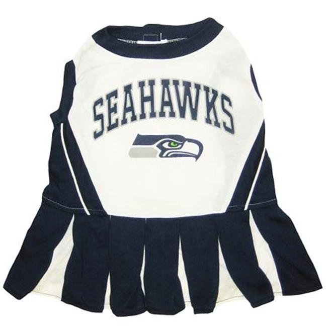 Mirage Pet Products 300-29 CH-MD Seattle Seahawks Cheer Leading MD